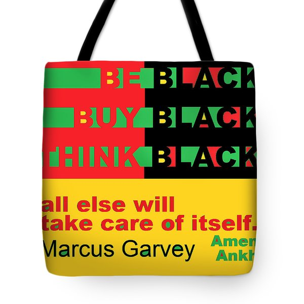 Be Black Rbg Tote Bag