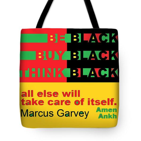 Be Black Rbg Tote Bag