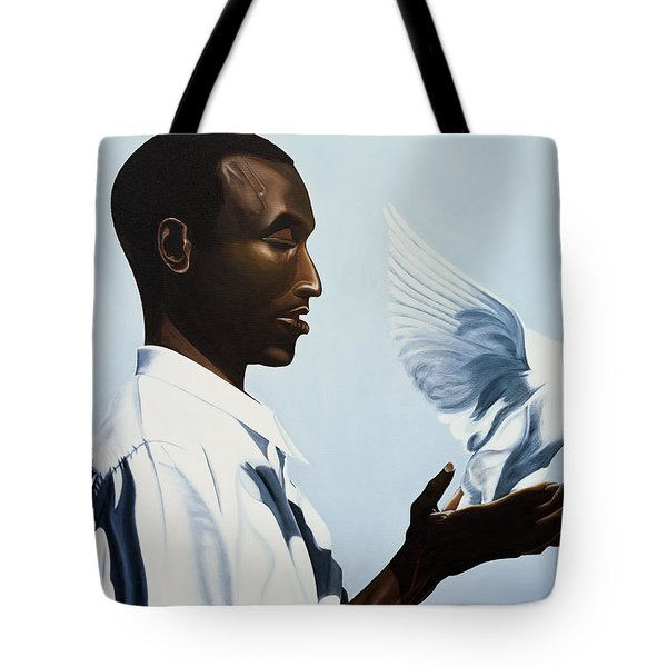 Be Free Three Tote Bag by Kaaria Mucherera