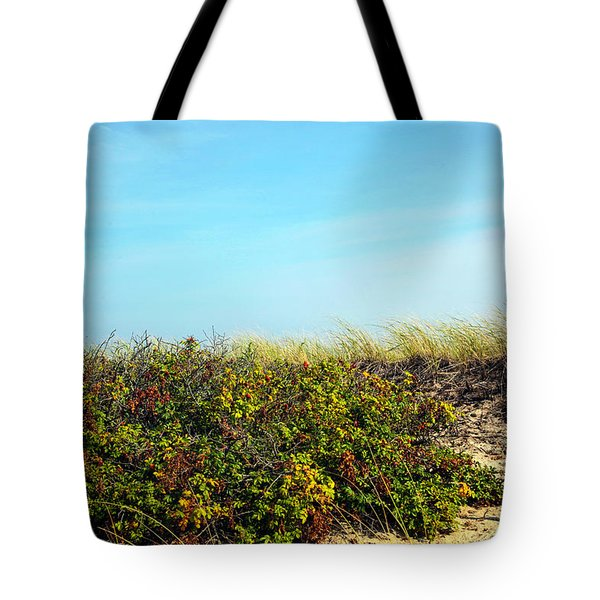 Tote Bag featuring the photograph Be Kind To The Dune Plants by Madeline Ellis