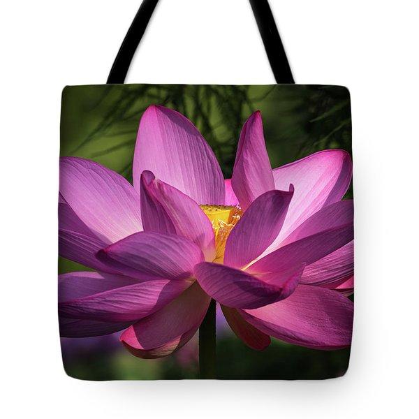 Be Like The Lotus Tote Bag