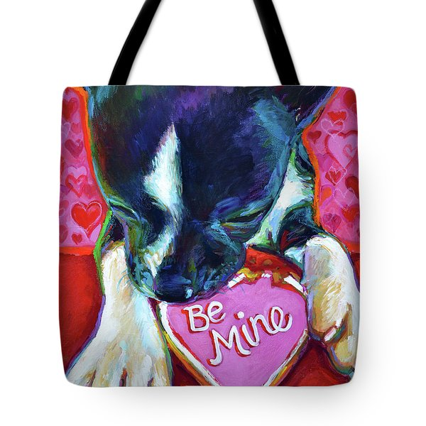 Be Mine Tote Bag by Robert Phelps