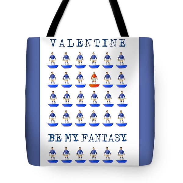 Be My Fantasy Tote Bag by John Colley