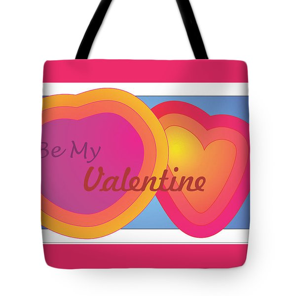 Be My Valentine Card Tote Bag