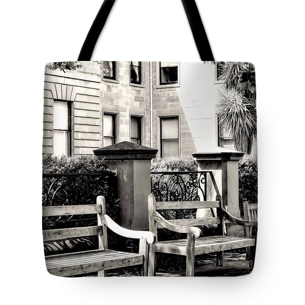 Be Seated Tote Bag by Wallaroo Images