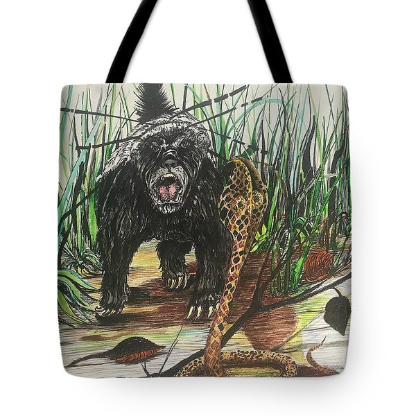 Be The Honey Badger Tote Bag