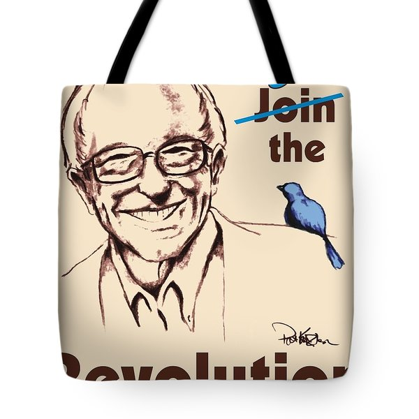 Be The Revolution Tote Bag