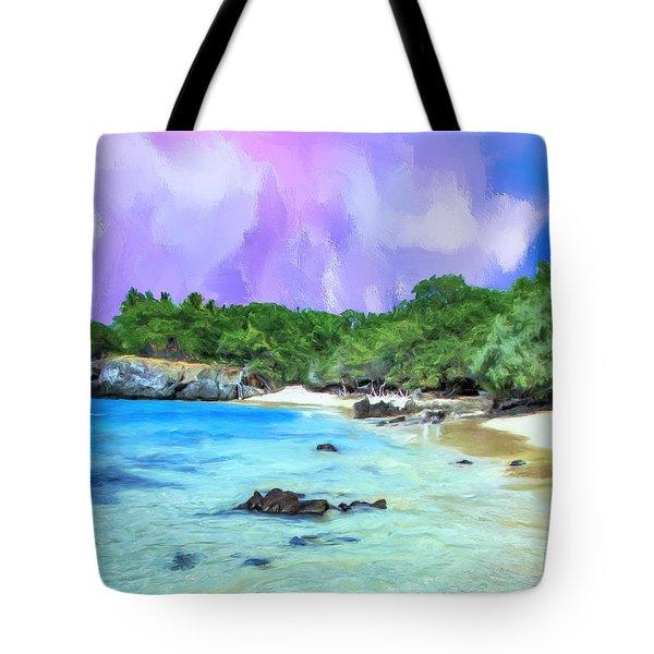 Beach 69 Big Island Tote Bag