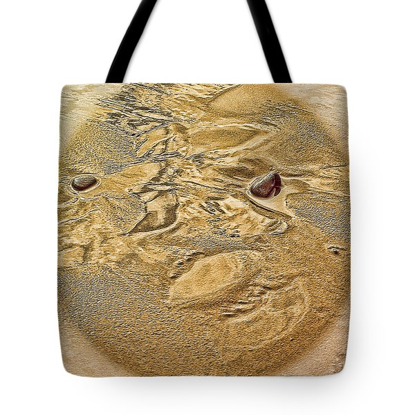 Beach Abstract Tote Bag by Dale Stillman