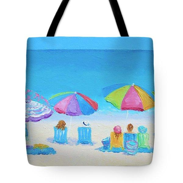 Beach Art - A Golden Day Tote Bag