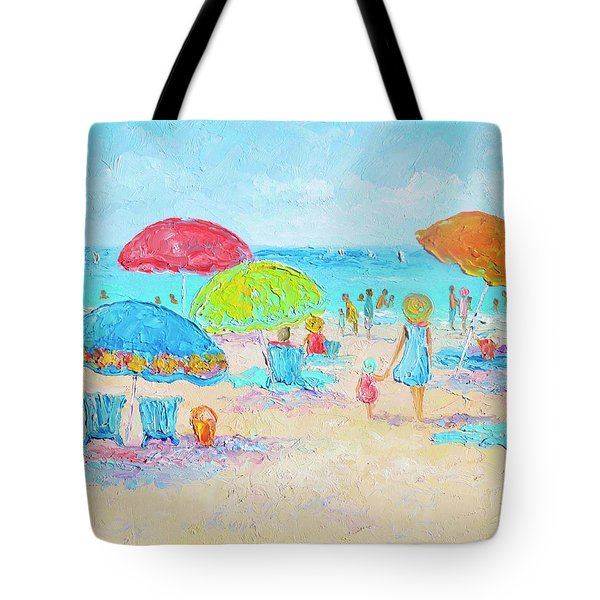 Beach Art - Relax Tote Bag