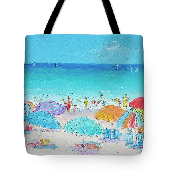 Beach Art - Summer Tote Bag