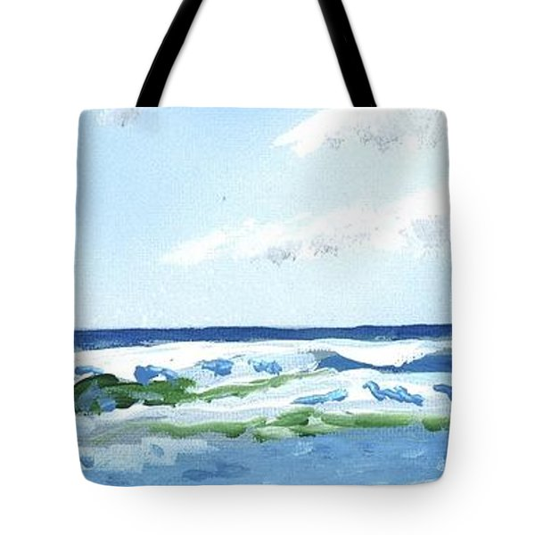 Beach At Isle Of Palms Tote Bag