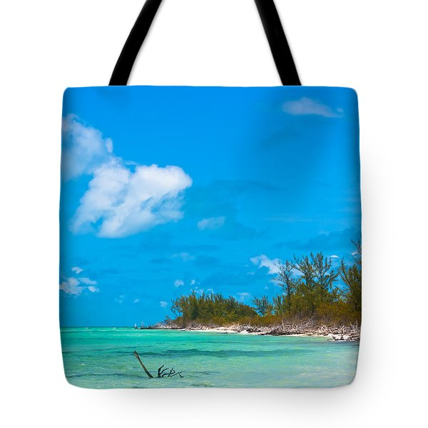 Beach At North Bimini Tote Bag