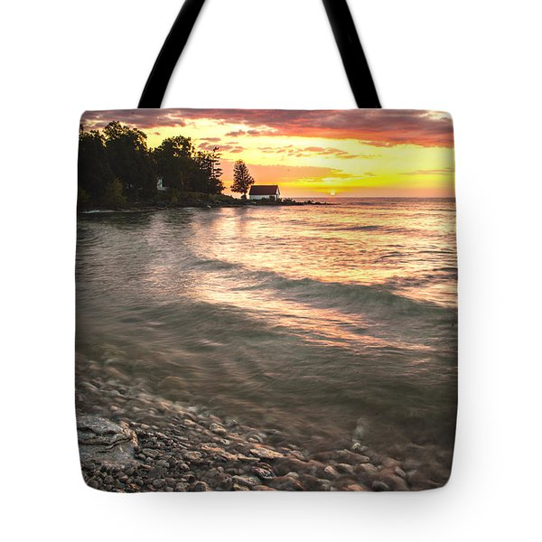 Beach Awakens Tote Bag