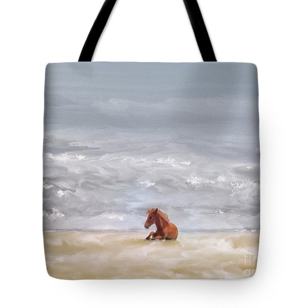 Tote Bag featuring the photograph Beach Baby by Lois Bryan