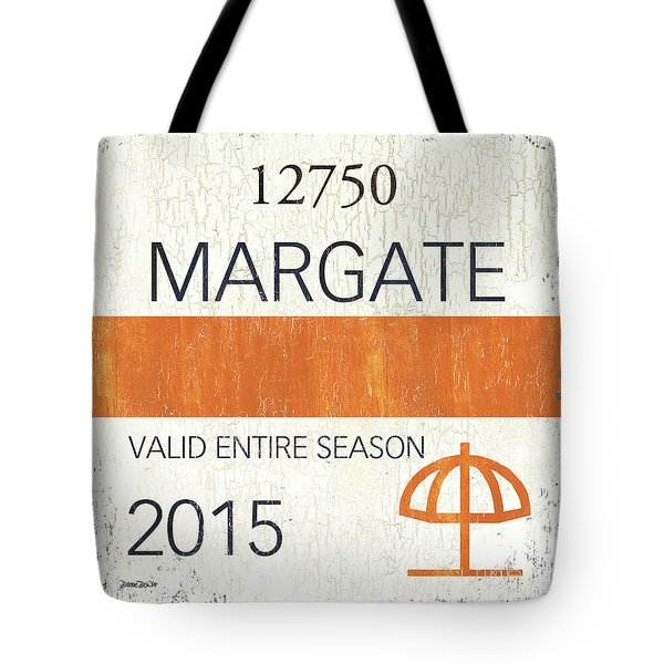 Beach Badge Margate Tote Bag