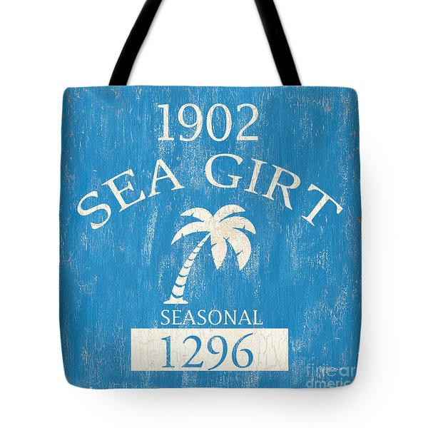 Beach Badge Sea Girt Tote Bag