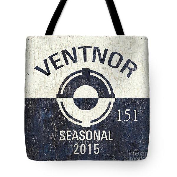 Beach Badge Ventnor Tote Bag
