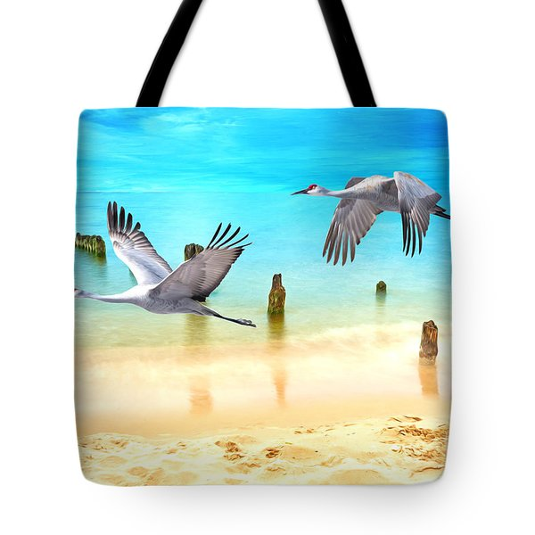 Beach Beauties Tote Bag