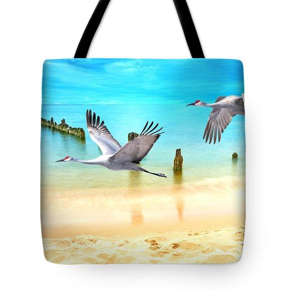 Beach Beauties Tote Bag