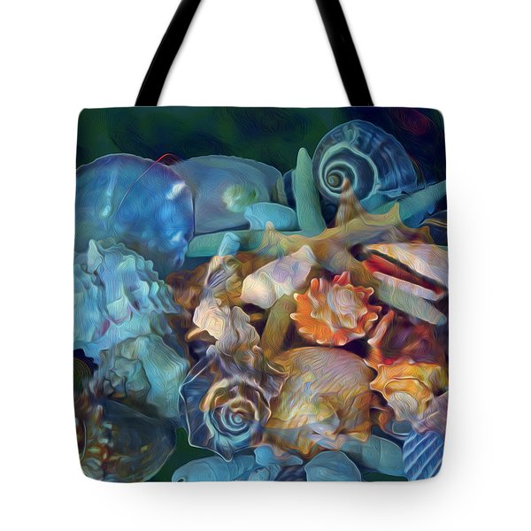 Beach Beauty 7 Tote Bag
