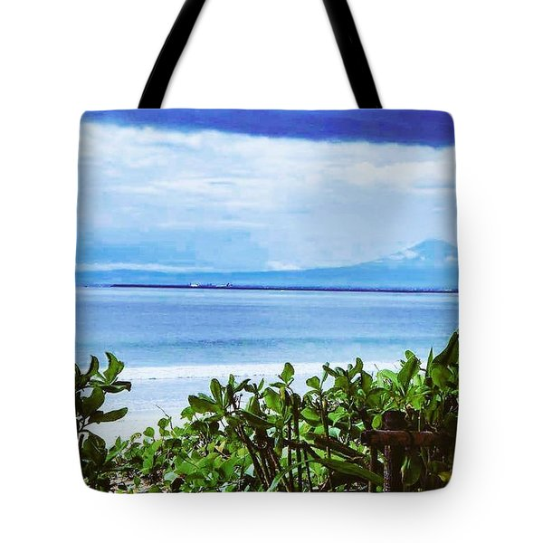 Beach Beauty Tote Bag