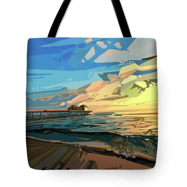 Beach Tote Bag by Bekim Art