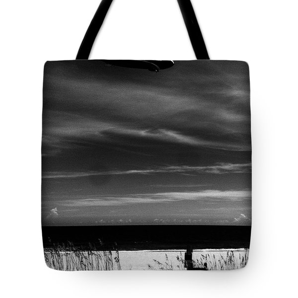 Beach Blimp Tote Bag