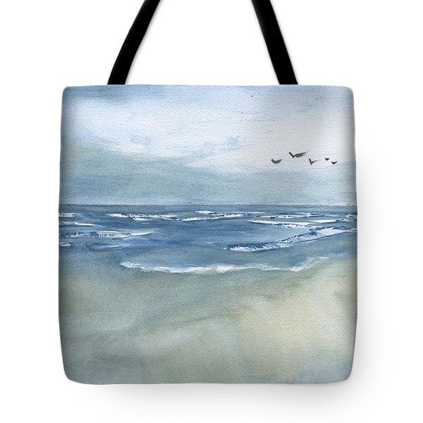 Beach Blue Tote Bag