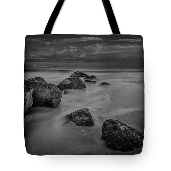 Beach Boulders Tote Bag