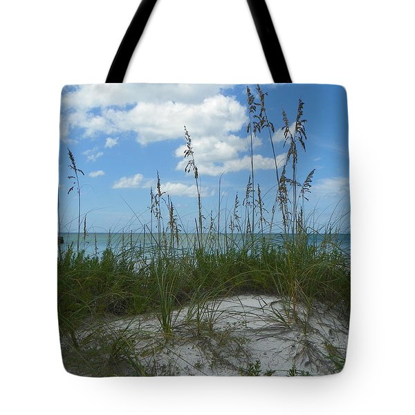 Tote Bag featuring the photograph Beach by Carol  Bradley