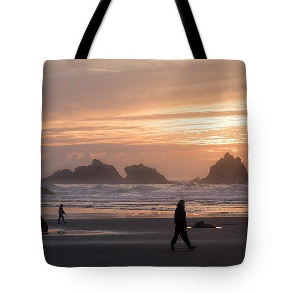 Beach Combers  Tote Bag