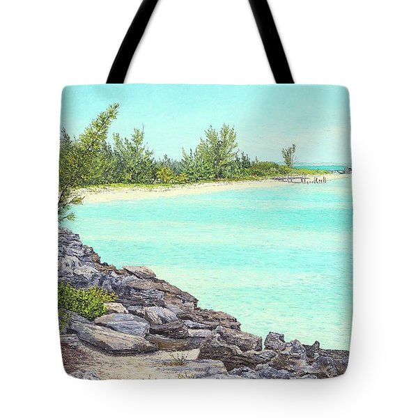 Beach Cove Tote Bag