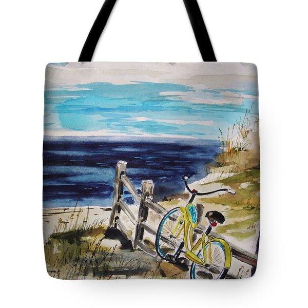 Beach Cruiser Tote Bag