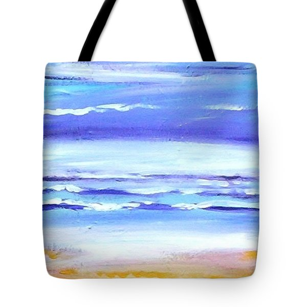 Beach Dawn Tote Bag by Winsome Gunning