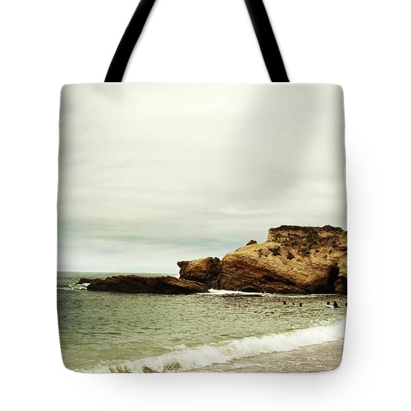 Beach Day At Montana De Oro Inspooner's Cove San Luis Obispo County California Tote Bag