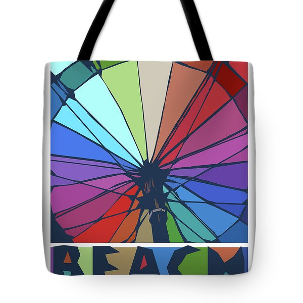 Beach Design By John Foster Dyess Tote Bag