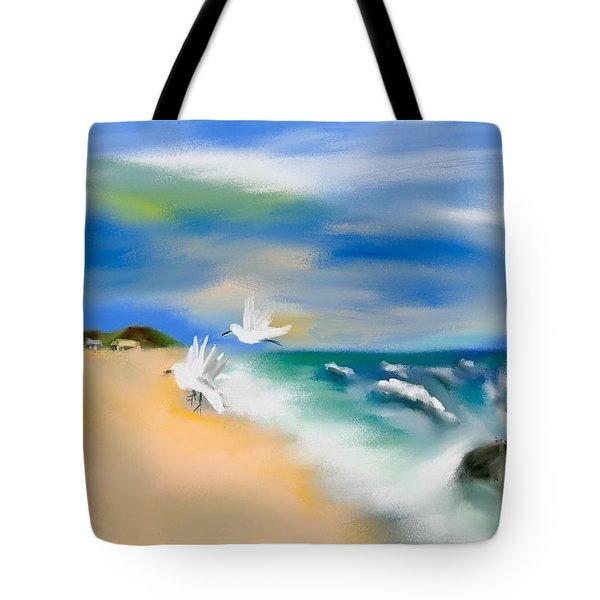 Beach Energy Tote Bag by Frank Bright