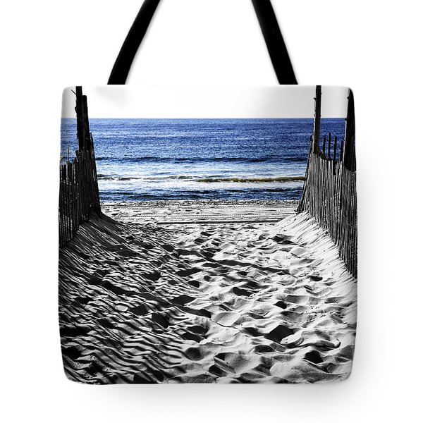 Beach Entry Fusion Tote Bag