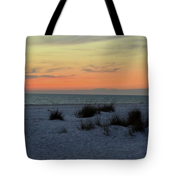 Tote Bag featuring the photograph Beach Evening Tones by Deborah  Crew-Johnson