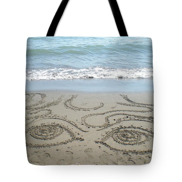Beach Eyes Tote Bag by Kim Prowse