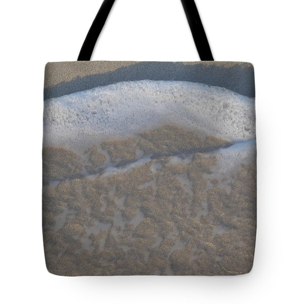 Beach Foam Tote Bag