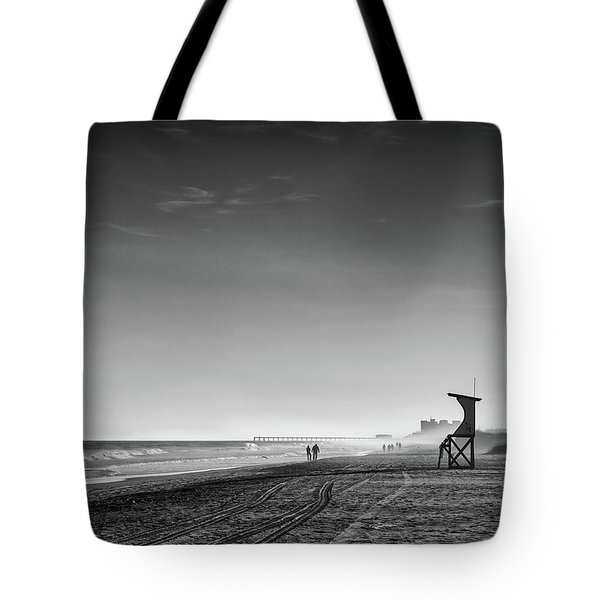 Beach Fog Tote Bag