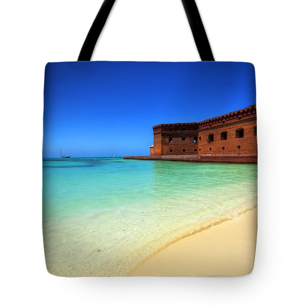 Beach Fort. Tote Bag