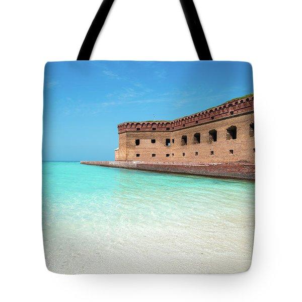 Beach Fort Tote Bag