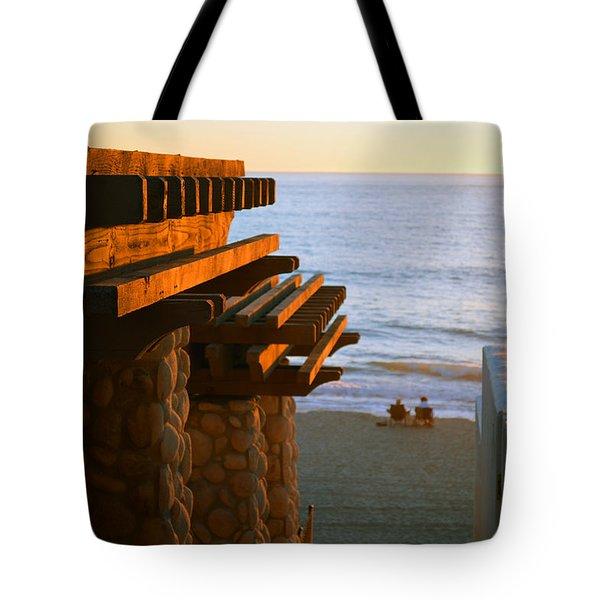Beach Gateway Tote Bag