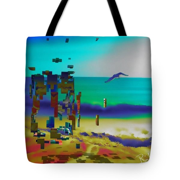 Beach Geometry  Tote Bag