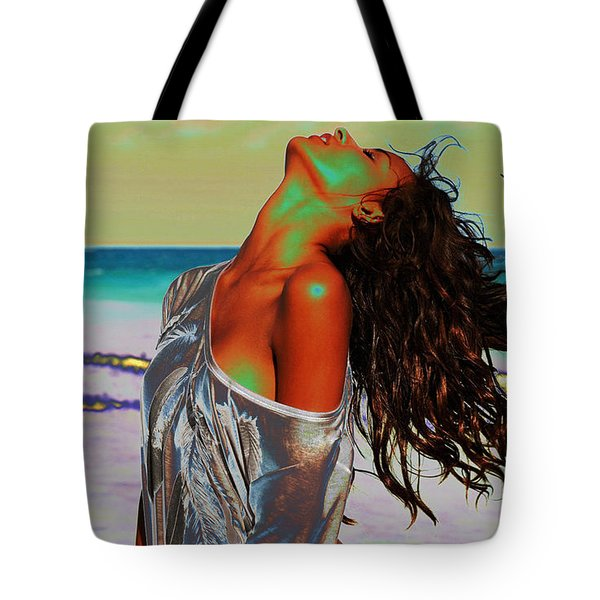 Beach Girl 1 Tote Bag