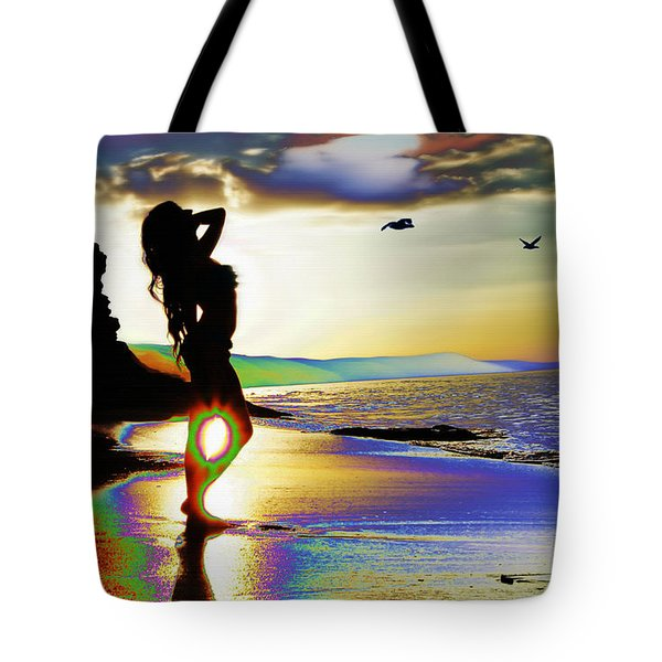 Beach Girl 4 Tote Bag